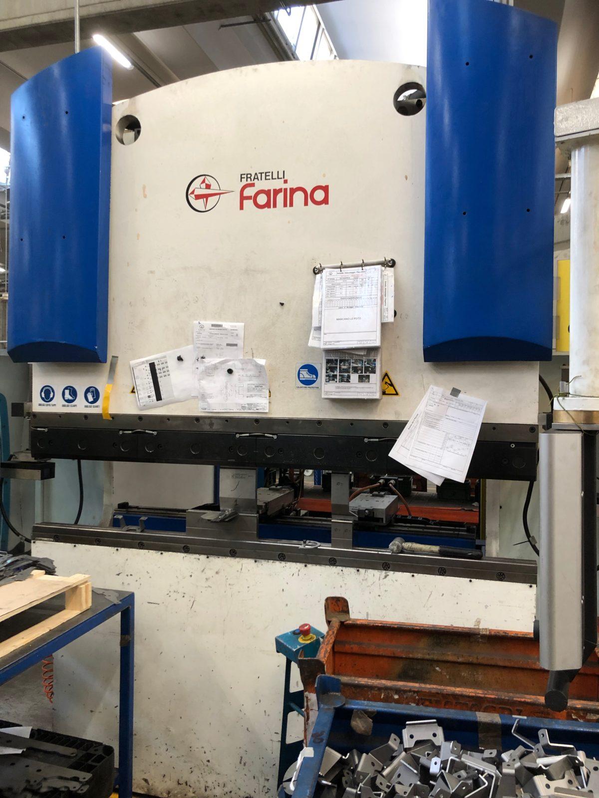 Press brake Farina 110 Ton x 2000 year 2013