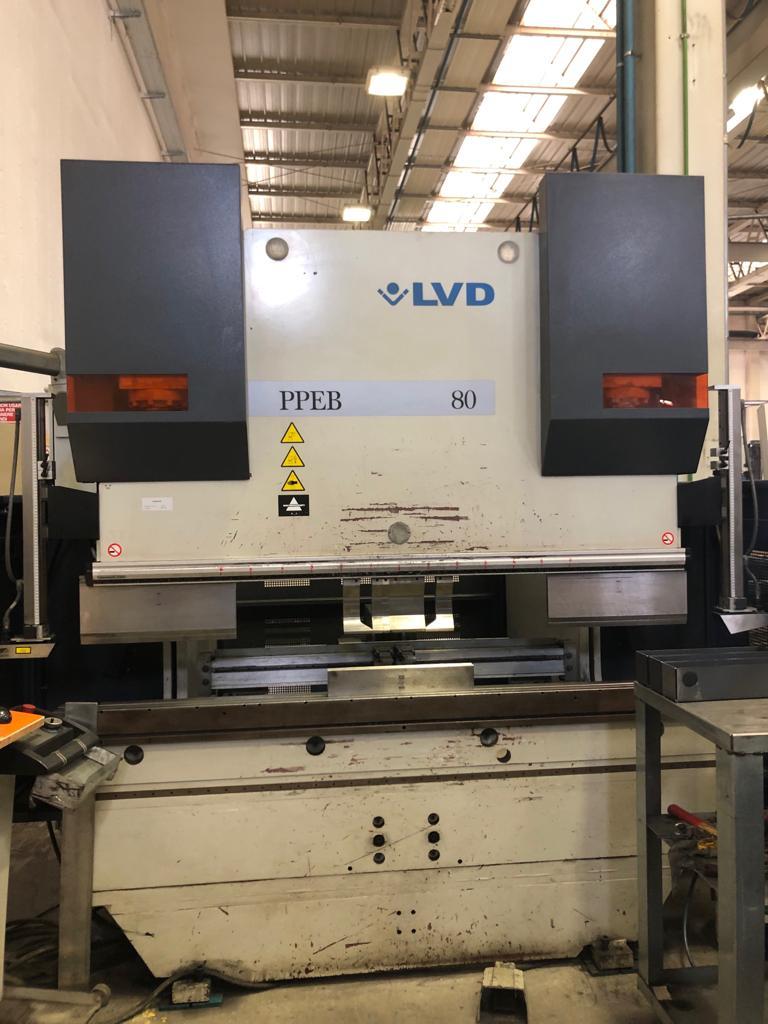 Press brake LVD PPEB-EQ 80/20